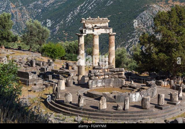 The Delphic Tholos Stock Photos & The Delphic Tholos Stock ...