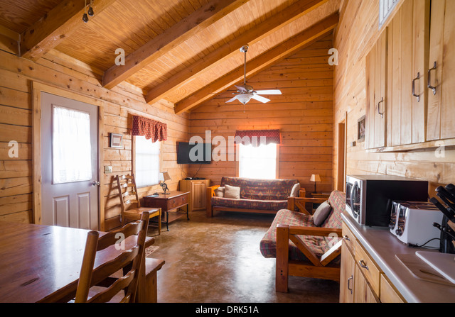 Wood panelling interior stock photos wood panelling for Rustic floors of texas