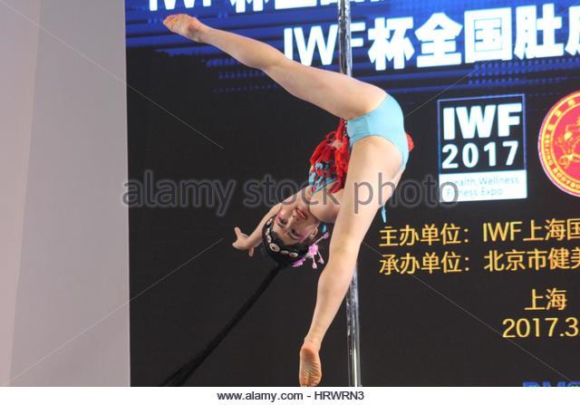 image Alternative girl pole dancer