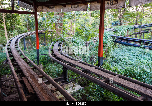 Vintage Backyard Roller Coaster : Rusty Roller Stock Photos & Rusty Roller Stock Images  Alamy
