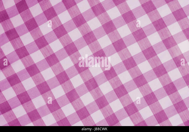 Pink Checkered Tablecloth Background Texture   Stock Image