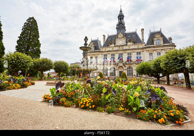 French city hall stock photos french city hall stock images alamy - Piscine municipale casablanca limoges ...