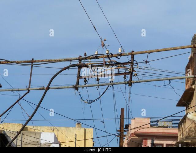 Urban Electrical Wiring Stock Photos & Urban Electrical Wiring ...