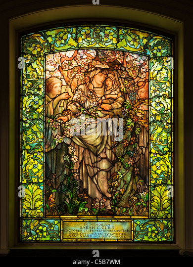 Christian stained glass windows stock photos christian for 16th street baptist church stained glass window