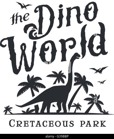 jurassic park logo stock photos & jurassic park logo stock images