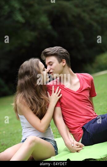 Romantic Couple Children Stock Photos & Romantic Couple