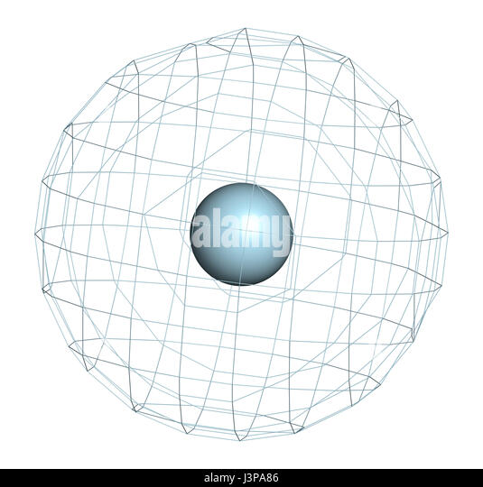 Neon Atomic Structure Stock Photos Neon Atomic Structure Stock