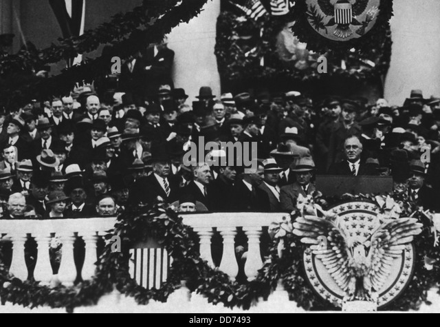 franklin d roosevelt inaugural speech President franklin d roosevelt delivers his first inaugural address after being sworn in by chief justice charles hughes on march 4, 1933.