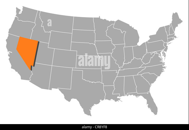 Us States Political Map - Political map of us states