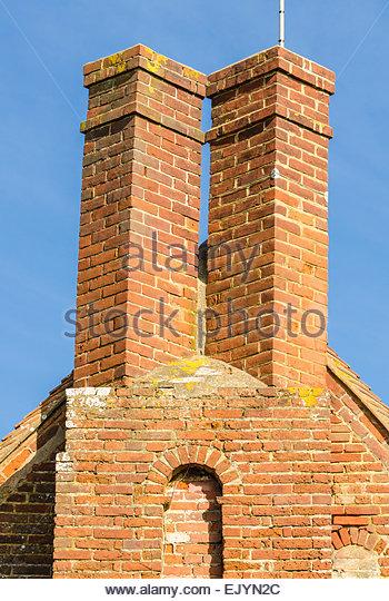 Chimney stacks uk stock photos chimney stacks uk stock for Twin chimneys