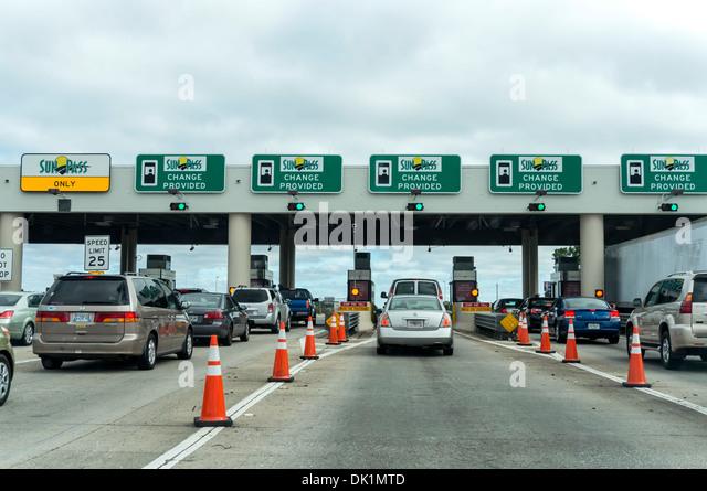 Florida Turnpike Traffic Palm Beach County