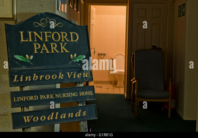 The Original Sign Which Was On News In 2010 Inside Linford Park Nursing Home