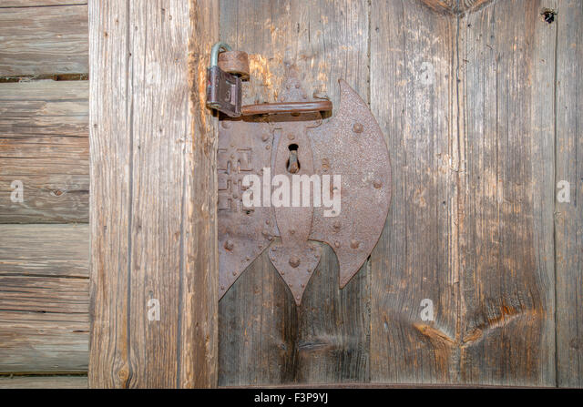 Locks On Door Front Stock Photos Amp Locks On Door Front