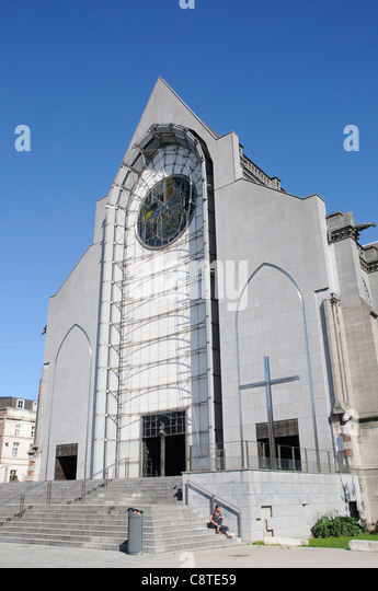 Lille cathedral stock photos lille cathedral stock images alamy - Lille notre dame de la treille ...