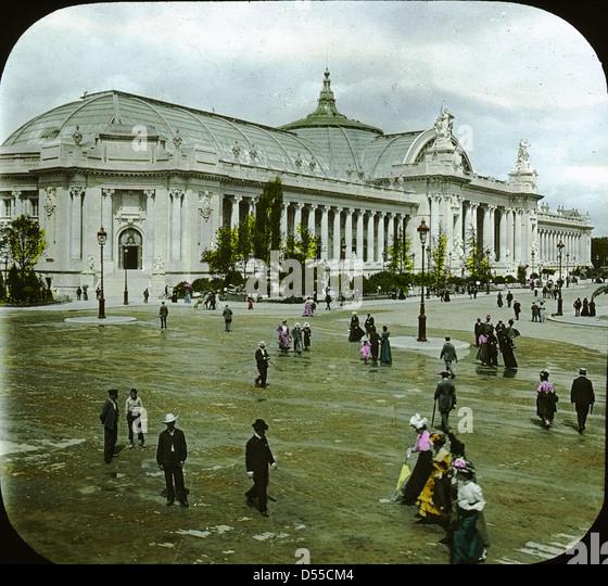 The grand palais 1900 stock photos the grand palais 1900 stock images alamy - Exposition grand palais paris ...