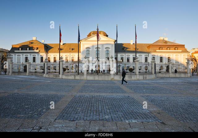 Slovak presidential palace stock photos slovak for Design hotel 21 bratislava kontakt