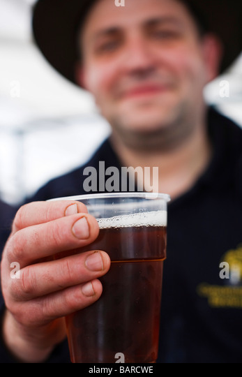 Bavarian Man Drinking Beer Painting