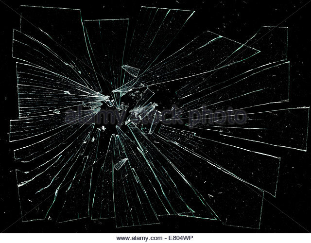 Broken Glass Black Stock Photos & Broken Glass Black Stock ...