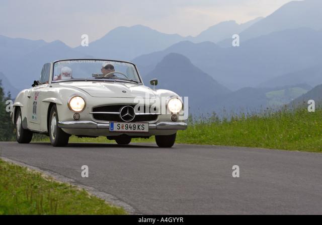 Mercedes austria oldtimer stock photos mercedes austria for Mercedes benz austria