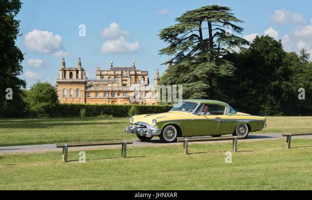 American Car Show Blenheim Palace