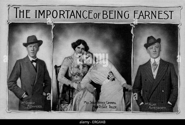 Earnest stock photos earnest stock images alamy for Farcical comedy in the importance of being earnest