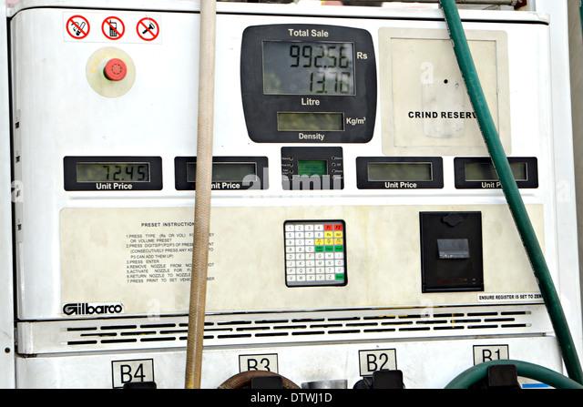 petrol pump station gas fuel automotive services meter gauge display dtwj1d fuel pump display stock photos & fuel pump display stock images gilbarco gas pump wiring diagram at love-stories.co