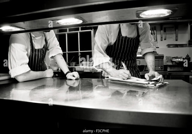Restaurant Kitchen Photography menu restaurant man kitchen chef stock photos & menu restaurant