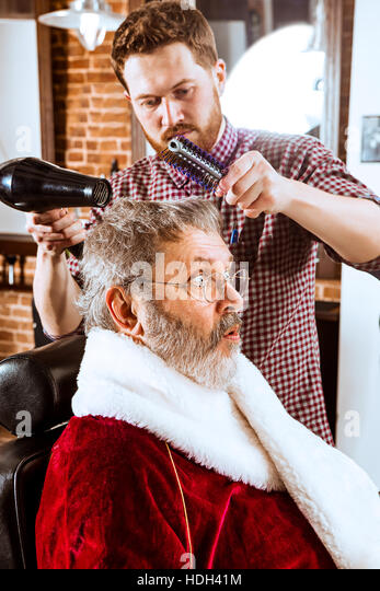 Shaving cream barber stock photos