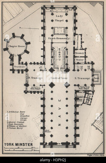 York minster floor plan yorkshire stock photos york for York minster floor plan