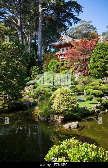 Japanese Tea Garden San Francisco Stock Photos Japanese Tea Garden San Francisco Stock Images