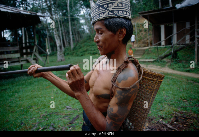 initiated into an iban tribe of headhunters by douchan gersi One of the most well known tribe in sarawak is the iban and put into the families apartment gallery and the body is covered with a blanket.