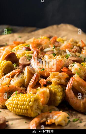 Cajun Shrimp Stock Photos & Cajun Shrimp Stock Images - Alamy