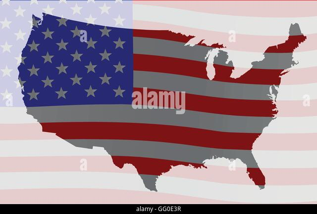 Worksheet. Stars And Stripes America Map Stock Photos  Stars And Stripes