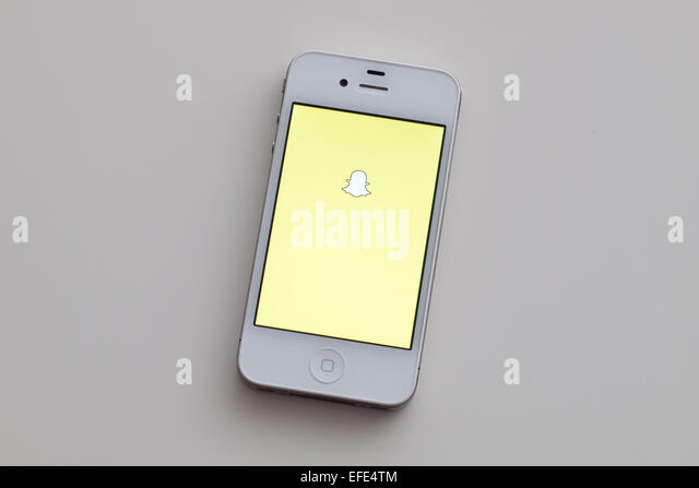 how to use snapchat on iphone 4