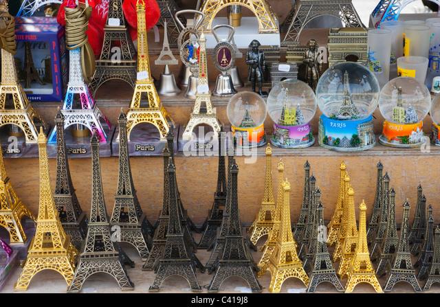 Souvenirs de paris stock photos souvenirs de paris stock images europe france paris eiffel tower tour de eiffel souvenirs tourism publicscrutiny Images