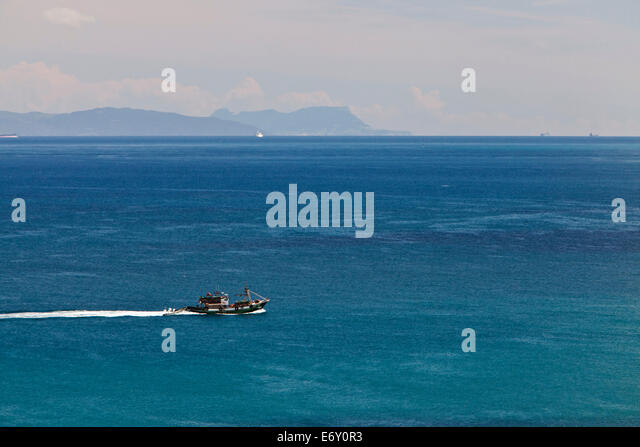 Tangiers stock photos tangiers stock images alamy - Moroccan port on the strait of gibraltar ...