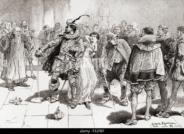 a scene analysis in william shakespeares the taming of the shrew Plot summary of and introduction to william shakespeare's play the taming of the shrew, with links to online texts, digital images, and other resources.