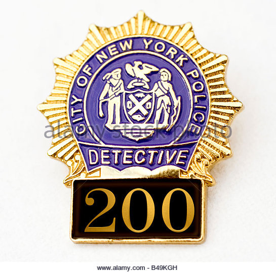 Nypd Badge Stock Photos & Nypd Badge Stock Images - Alamy