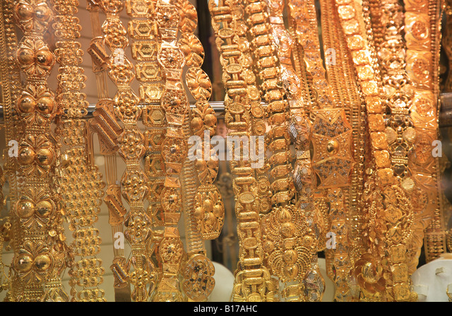 Jewelry In Shop In Gold Souk Stock Photos Jewelry In Shop In Gold