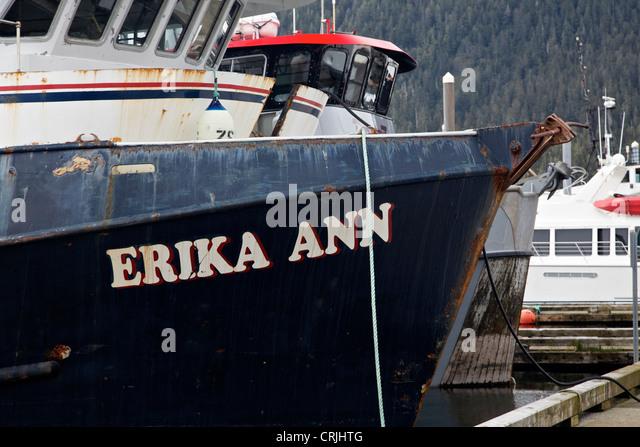 Fishing boat vessel alaska stock photos fishing boat for Petersburg alaska fishing