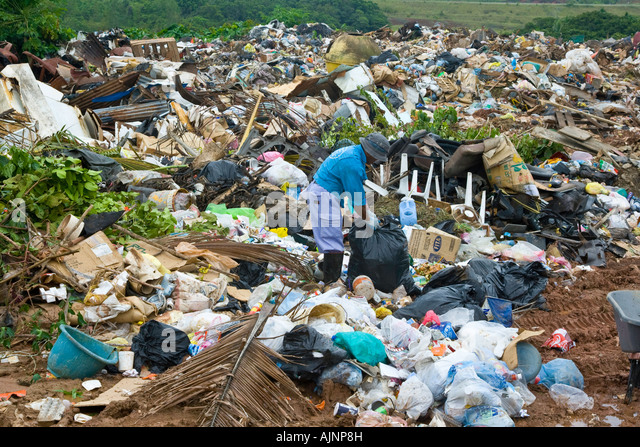 Waste disposal on cat ba island