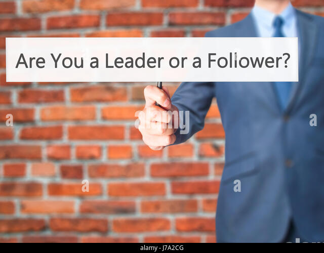 are you a leader or a follower Two american academics, adam galinsky and maurice schweitzer, authors of book 'friend or foe' have designed a simple trick to determine whether you're a natural born leader or if you prefer to follow the pack and it only takes a matter of seconds to find.