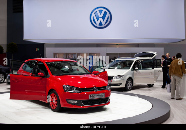 volkswagen polo bluemotion stock photos volkswagen polo. Black Bedroom Furniture Sets. Home Design Ideas
