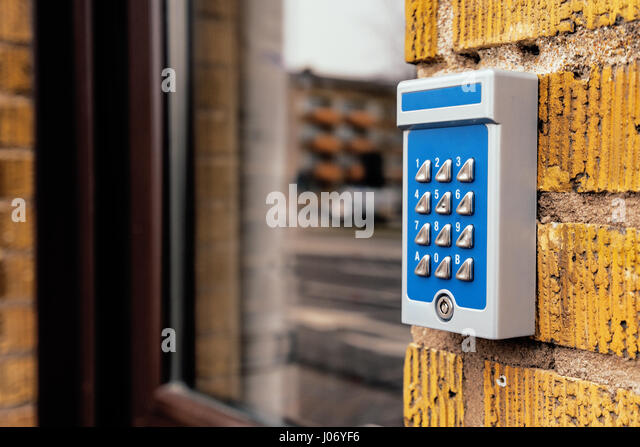 Outdated intercom device at apartment building entrance  selective focus    Stock ImageApartment Building Entrance Stock Photos   Apartment Building  . Brick Apartment Building Entrance. Home Design Ideas