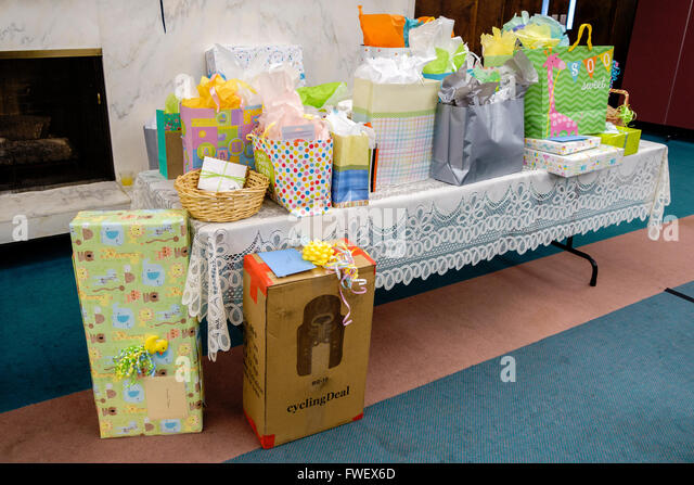 Tables With Presents Stock Photos Tables With Presents
