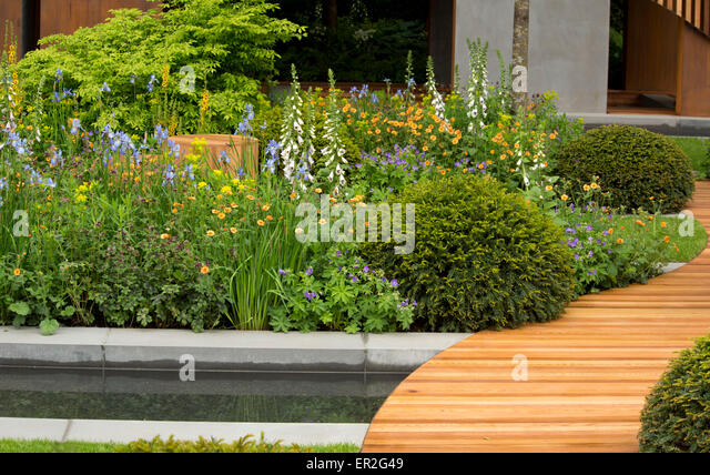 The Homebase Urban Retreat Garden, Winner Of A Gold Medal In The Show  Gardens Category