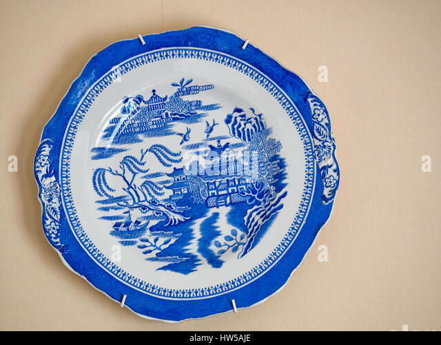 Willow Pattern China Stock Photos Amp Willow Pattern China