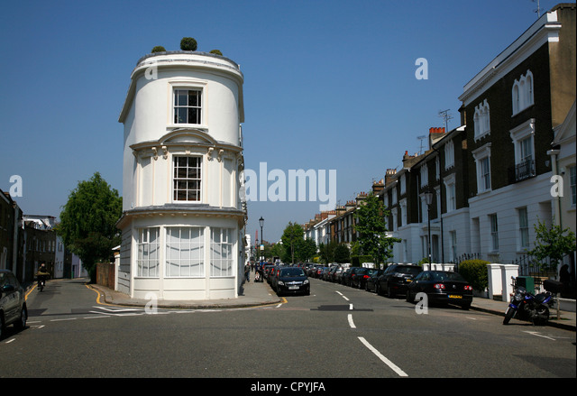 Perfect Junction Of Portland Road And Pottery Lane In Notting Dale Part Of Notting  Hill, London Nice Look
