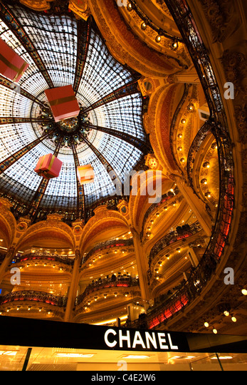 Chanel Store Interior Paris Stock Photos Chanel Store Interior Paris Stock Images Alamy