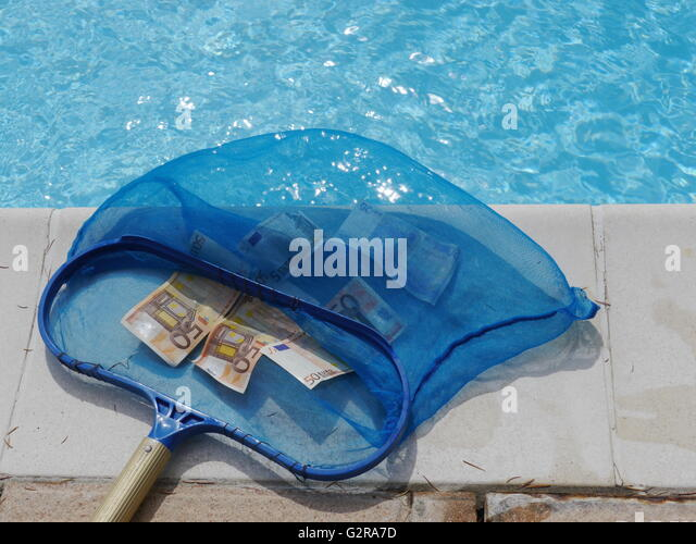 Swimming Pool Full Of Money : Money pool stock photos images alamy